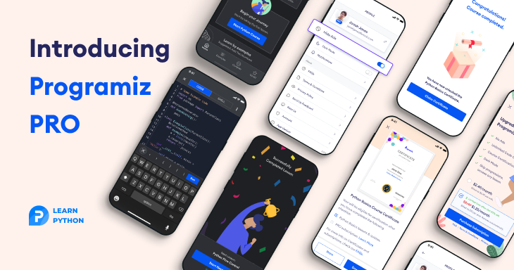 Introducing Programiz Pro!