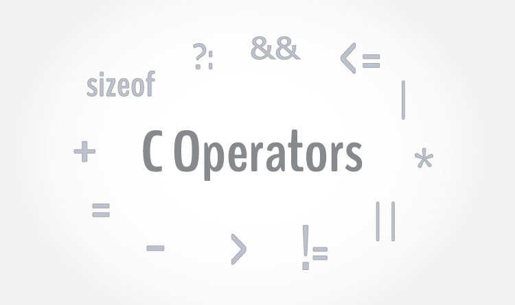 Operators in C programming