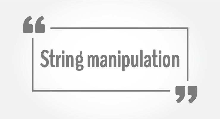 String manipulations in C