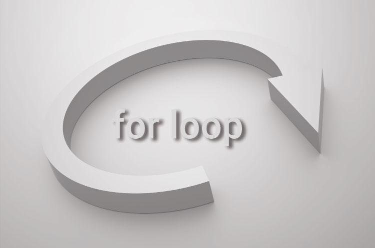 for loop in C programming